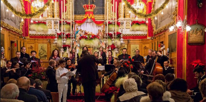 Santa Cecilja Choir & Orchestra Christmas concert at St Francis Church