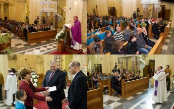 Gozitan school children attend Ta` Pinu Mass dedicated to Leah