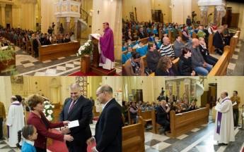 Gozitan school children attend Ta` Pinu Mass dedicated to Leah