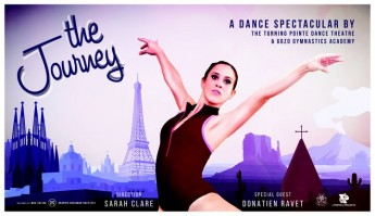 The Journey: Dance spectacular takes you through 15 different countries