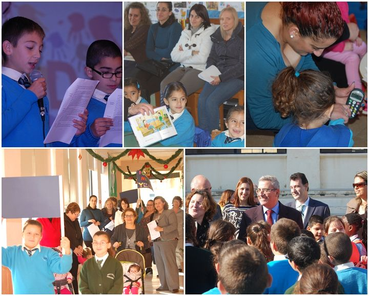 'Tis the season to be jolly for everyone at Xewkija Primary School