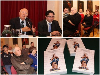 New book launched on the statue of the Immaculate Conception