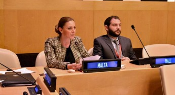 Justyne Caruana's speech at the UN Headquarters, New York