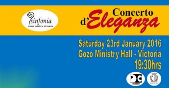 Concerto d'Eleganza: Annual Gozo Concert by Sinfonia Music Group