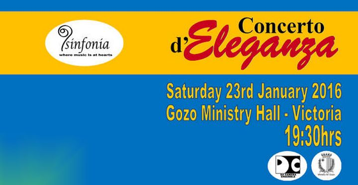 Annual Gozo Concert by Sinfonia Music Group next Saturday