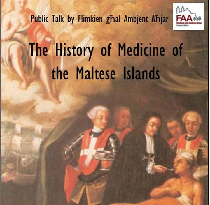 History of Medicine of the Maltese Islands by Prof Carmel Lino Cutajar