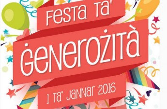 Feast of Generosity celebrating its 20th edition today, New Year's Day