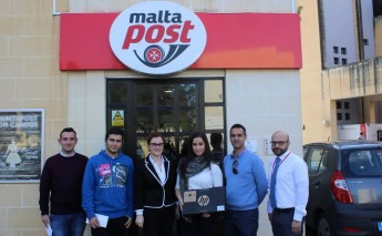 MaltaPost announces winners of University Freshers' week competition