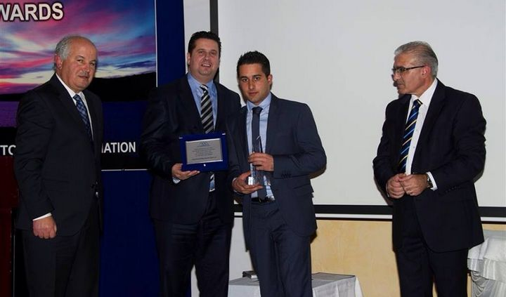 Andrew Saliba wins Gozo Tourism Worker of the Year Award