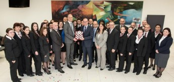 Gozo Branch is Bank of Valletta's Branch of the Year 2015