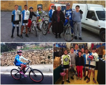 Gozo Greyhounds Sports Club youngsters enjoy cycling around Gozo