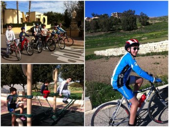 Gozo Greyhounds youngsters enjoy fine weather on 23km bike ride