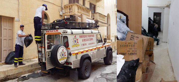 Gozo LEAP Centre & ERRC collection in aid of the needy in Gambia