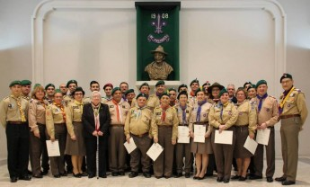 Scout Association of Malta annual awards night for adult members