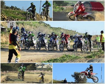Nail biting 3rd round of the Gozo Motocross Championship