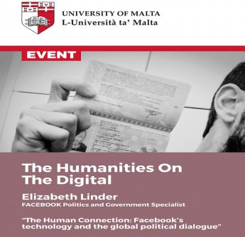 Update: The Humanities: A Passport to The Digital - Public talk by Elizabeth Linder