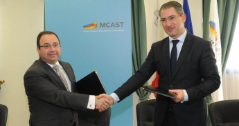 MCAST & QP Management sign a MoU for the construction industry