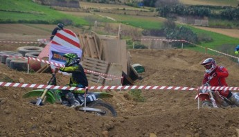 Rain cuts short racing in 4th round of Gozo Motocross Championship
