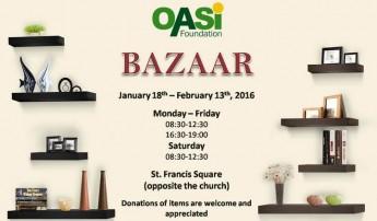 OASI Foundation fundraising bazaar opens Monday in Victoria