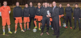 Rodney Buttigieg (Xewkija Tigers) is BOV GFA Player of the Month