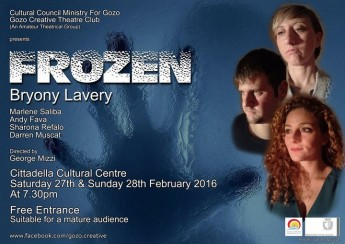 Frozen: Latest production by The Gozo Creative Theatre Club