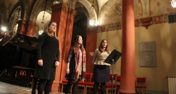 Gaulitanus Choir soloists & Musical Director return from Firenze tour