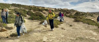 Gozo Rocks Clean and Green hike volunteers collect 23 bags of rubbish