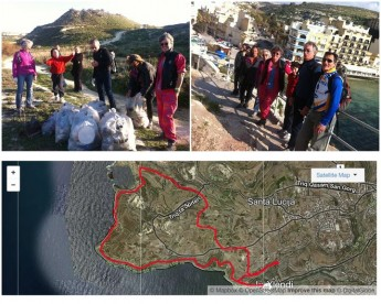 Gozo Rocks Clean & Green hike on Sunday from Dwejra to Gharb