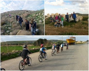 Clean and Green hike this Sunday & cycle ride for kids on Saturday