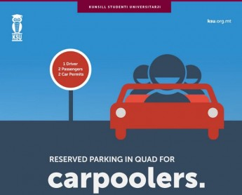 KSU Carpoolers to ease parking problem for University students