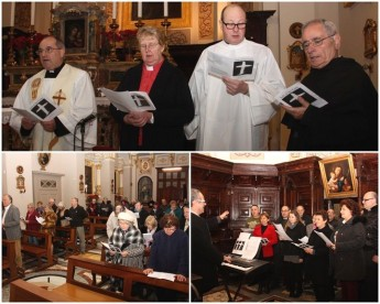 Service of Prayer held in Gozo for the Week of Prayer for Christian Unity