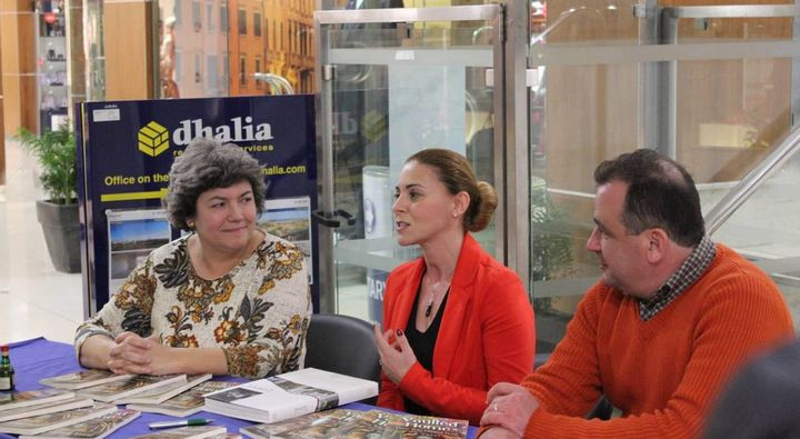 Gozo book launch of `Vaulted Home: Those Who Cheated Death'