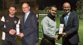 BOV GFA Players of the month are Elton Vella and Shaun Bajada