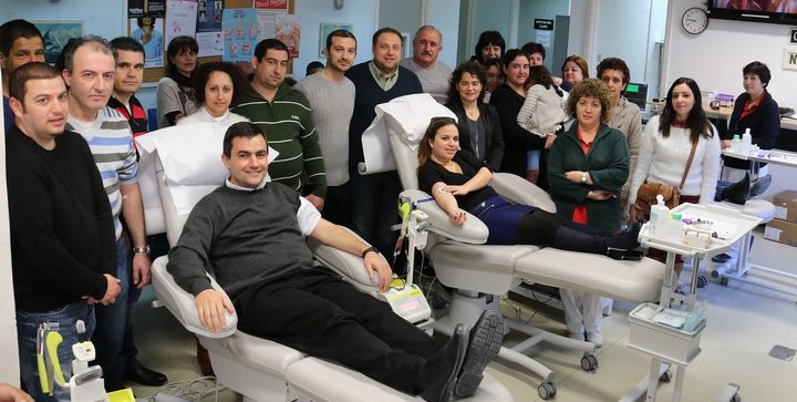 Sannat residents donate blood at Gozo General Hospital
