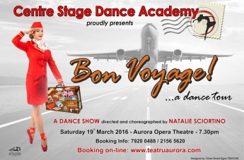 The Centre Stage Dance Academy in `Bon Voyage!...a dance tour