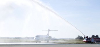 Volotea's inaugural flight from Catania lands in Malta