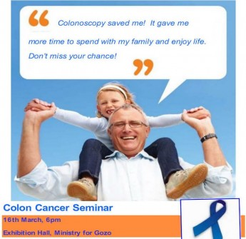 Colon Cancer Seminar in Gozo - Understanding colonoscopy