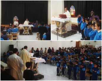 Our Lady of Sorrows Mass at Gozo College Ghajnsielem Primary