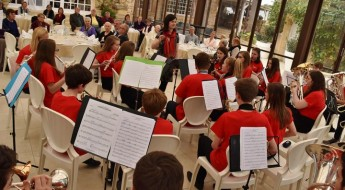 The Fallibroome Academy Afternoon Tea concert held at Ta' Frenc