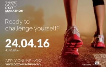 41st edition of Teamsport Gozo Half Marathon next month