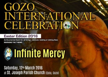 Gozo International Celebration Easter 2016 edition: Infinite Mercy