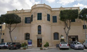 Façade restoration of Ministry for Gozo building by Wirt Ghawdex