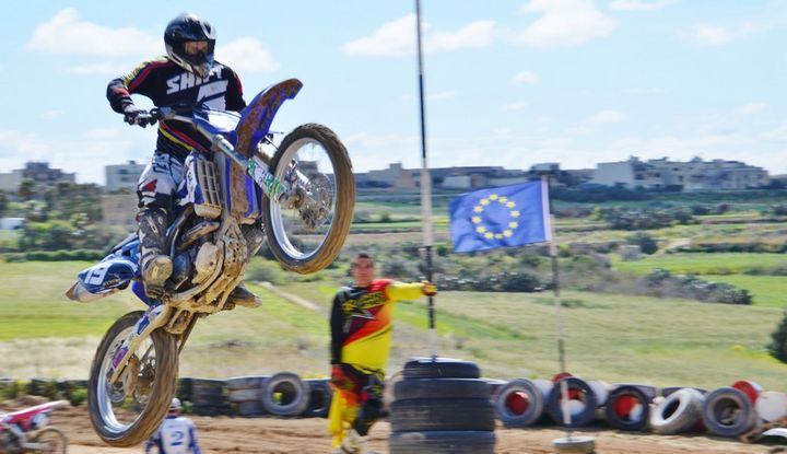 Perfect racing conditions for the Gozo Motocross Fun Race