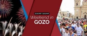 Gozo weekend with the Teamsport Half Marathon & fireworks displays