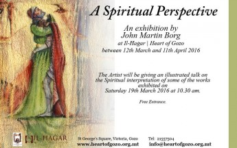 A Spiritual Perspective: John Martin Borg exhibition at Il-Hagar