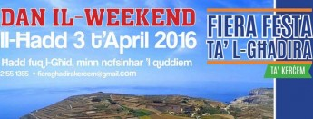 Fiera ta' l-Ghadira: 32nd edition of this traditional family event