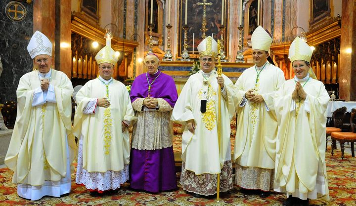 Pope's message read out at funeral of Archbishop Mgr Joseph Mercieca