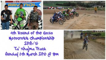 Fourth round of the Gozo Motocross Championship on Sunday
