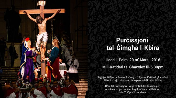Good Friday Procession with traditional Passion Tableaux