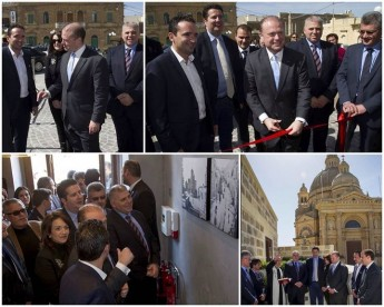 Prime Ministers opens the Quaint Boutique Hotel in Xewkija